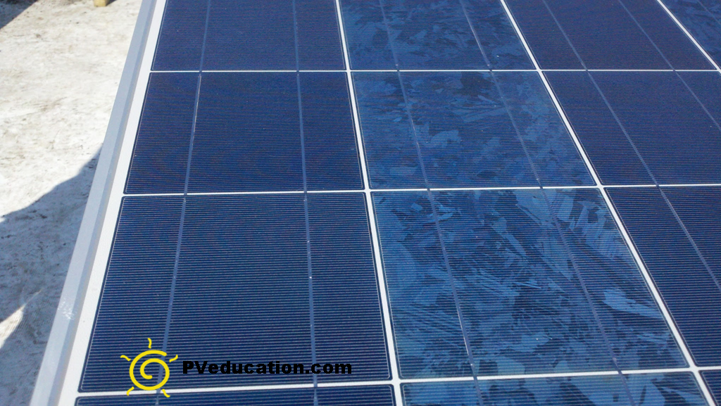 Poor Quality Solar Module Pveducation Com